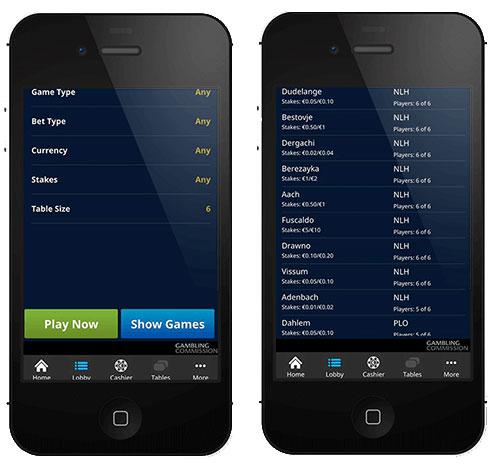 William Hill Mobile Poker App