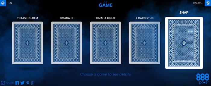 Игры 888покер