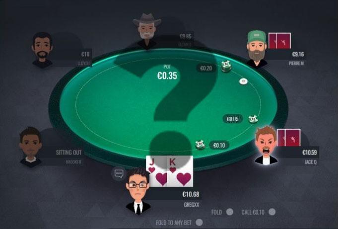 выбор стола в покере