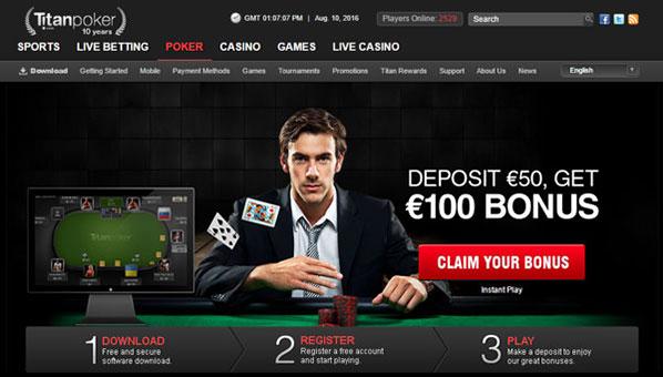 Сайт Титан покер